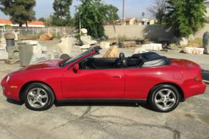 1997 Toyota Celica CONVERTIBLE CORROSION FREE RED LOW MILE