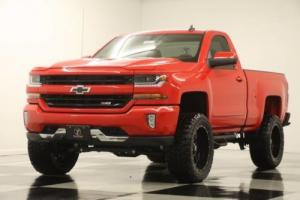 2017 Chevrolet Silverado 1500 Lifted 2LT 4X4 GPS Z71 Camera Red Hot Regular 4WD