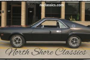 1969 AMC AMX - NUMBERS MATCHING- BLACK ON BLACK-NEW LOW PRICE-S Photo