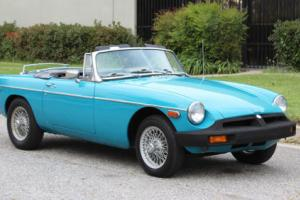 1976 MG MGB MBG, California Car