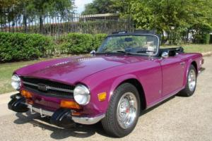 1974 Triumph TR-6 CONV Photo