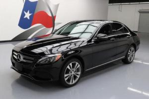 2015 Mercedes-Benz C-Class C300ATIC AWD PANO SUNROOF