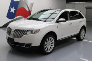 2013 Lincoln MKX LIMITED VENT LEATHER PANO ROOF NAV