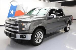 2015 Ford F-150 LARIAT CREW 5.0L PANO ROOF NAV 20'S Photo