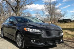 2014 Ford Fusion Titanium Hybrid Photo
