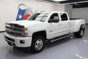 2016 Chevrolet Silverado 3500 HD 4X4 HIGH COUNTRY DIESEL