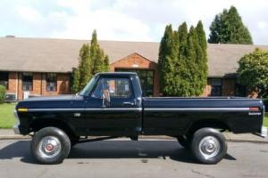 1975 Ford F-250 4X4 460 V8 HIGHBOY NEVER OFF-ROAD ALL ORIGINAL
