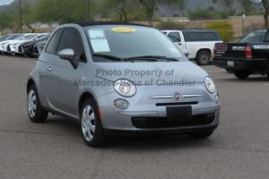 2015 Fiat 500 2dr Convertible Pop
