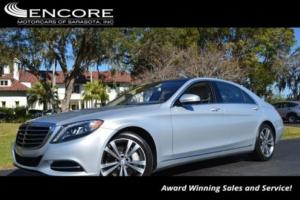 2014 Mercedes-Benz S-Class 4dr Sedan S550 RWD W/P1 Package