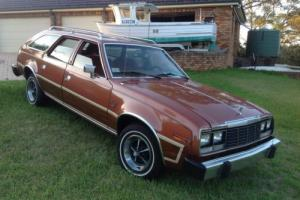 AMC Hudson Rambler 1982 CONCORD WOODY WAGON IMMACULATE CONDITION Photo
