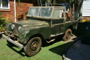 """Land Rover Series 1 88"""" barn find"""