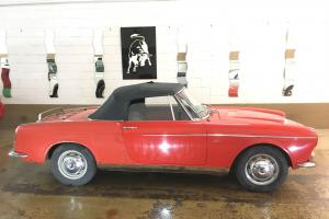 1959 Fiat 1200 Vetture Speciale Cabriolet for Sale