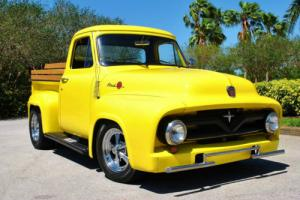 1955 Ford F-100 Custom Build! 350 V8 Buckets Console Must See!