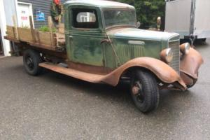 1936 International Harvester C-35 Stake 1.5 ton Stake truck
