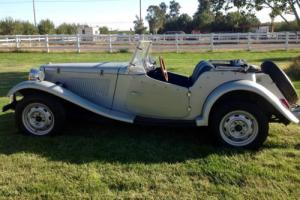 1970 Replica/Kit Makes MG TD REPLICA