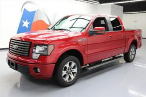 2012 Ford F-150 FX2 SPORT CREW 5.0 SIDE STEPS