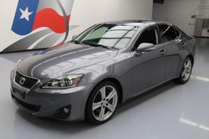2012 Lexus IS PREM PLUS VENT LEATHER SUNROOF NAV