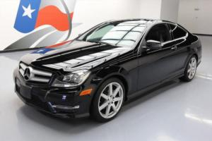 2013 Mercedes-Benz C-Class C250 COUPE P1 PANO ROOF NAV