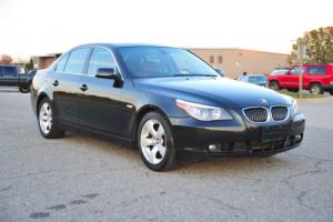 2007 BMW 5-Series 530i / Cinnamon Dakota / Carfax Certified!!