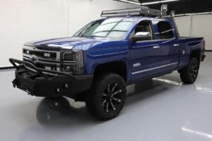 2015 Chevrolet Silverado 1500 SILVERADO HIGH COUNTRY 4X4 LIFTED CUSTOM