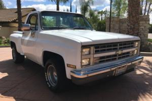 1986 Chevrolet Silverado 1500 C10 step side