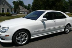 2006 Mercedes-Benz S-Class S500 4dr Sedan 5.0L