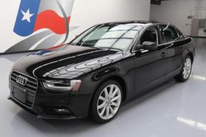 2013 Audi A4 2.0T PREM PLUS HDT LEATHER SUNROOF NAV