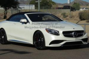 2017 Mercedes-Benz S-Class AMG S 63 4MATIC Cabriolet