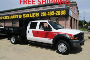 2006 Ford F-550 F550 DUMP AND LAND SCAPING