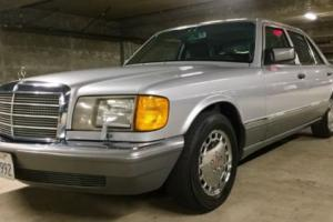 1991 Mercedes-Benz 300-Series W126 W124 300e 300se