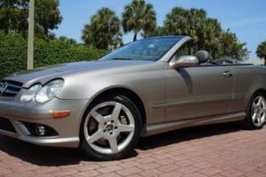 2006 Mercedes-Benz CLK-Class CLK500 CONVERTIBLE HEATED/VENTILATED SEATS XENON LIGHTS