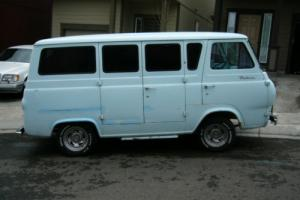 1962 Ford E-Series Van Station Bus