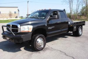 2006 Dodge Ram 3500 SLT Texas Cummins Flatbed Rustfree 6 speed stick