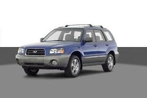 2003 Subaru Forester XS Photo