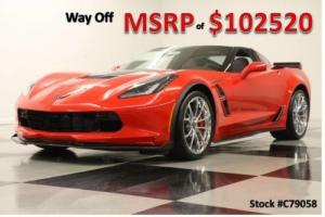 2017 Chevrolet Corvette MSRP$102520 Grand Sport 3LT GPS Leather Torch Red Coupe