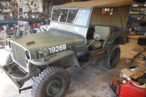 Willys Army Jeep 1942 MB