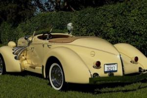 1978 Replica/Kit Makes BOATTAIL SPEEDSTER REPLICA OF A BOATTAIL SPEEDSTER AUBURN