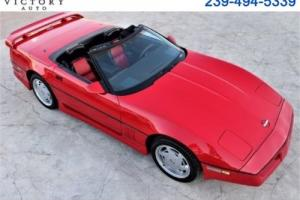 1989 Chevrolet Corvette Convertible Photo