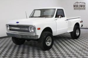 1970 Chevrolet K20 4X4 SHORT BOX. FRAME OFF RESTORED. V8!