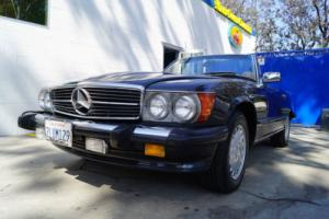1988 Mercedes-Benz SL-Class 560SL CONVERTIBLE WITH STAMPED DEALER BOOKLET