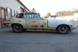 1970 Jaguar E-Type Coupe 2+2 Project #'smatch Heritage Certificate