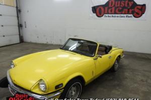 1976 Triumph Spitfire Great Project Car Needs TLC 1.5L 4 Speed