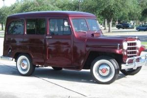 1951 Willys Wagon Photo