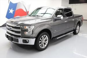 2015 Ford F-150 LARIAT CREW ECOBOOST LEATHER NAV