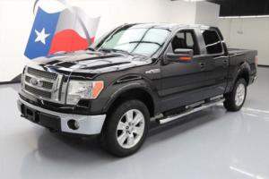 2010 Ford F-150 LARIAT CREW 4X4 SUNROOF LEATHER NAV