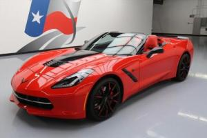 2015 Chevrolet Corvette STINGRAY Z51 CONVERTIBLE 3LT NAV !!