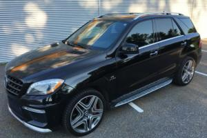 2012 Mercedes-Benz M-Class AMG V8 BITURBO PERFORMANCE PACKAGE