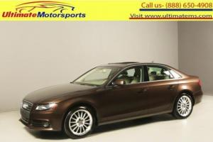 2011 Audi A4 2011 2.0T QUATTRO PREMIUM PLUS AWD SUNROOF LEATHER