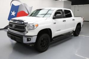 2015 Toyota Tundra CREWMAX 4X4 TSS LEATHER NAV 20'S