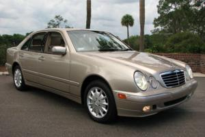 2000 Mercedes-Benz E-Class W210 E-320 E320 4-MATIC 4MATIC SEDAN